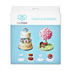 Cake Frame Tiers & Spheres Set