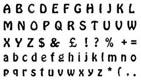 Jem Cutter-#7 Alphabet Cutters