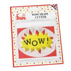 """WOW"" Shape Gum Paste Cutter"