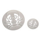 Skull and Crossbones Gum Paste Cutter Set