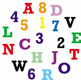 Upper Case Alphabet and Numbers Cutter Set