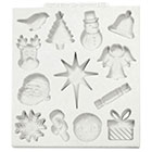 Christmas Embellishments Silicone Mold