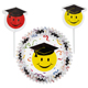 Smiley Grad Cupcake Combo Kit