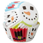 Snowman Face Mini Baking Cups