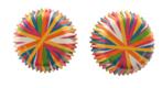 Color Wheel Mini Baking Cups