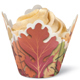Die Cut Leaves Standard Baking Cups