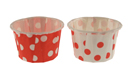 Mini Red Polka Dot Party Cups