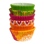 Neon Floral Standard Baking Cups