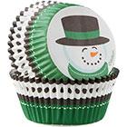 Snowman Standard Baking Cups