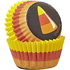Candy Corn Mini Baking Cups