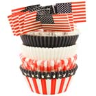 Flag Cupcake Combo Kit