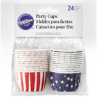 Red, White, and Blue Nut Cups