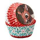 Rudolph Mini Baking Cups