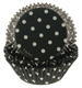 Black and White Dots Standard Baking Cups