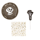 Skeleton Cupcake Decorating Kit