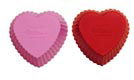 Heart Silicone Baking Cups
