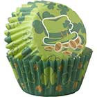St. Patrick Mini Baking Cups