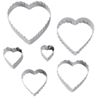 Straight and Fluted Heart Cutter Set