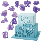 Fondant Alphabet/Number Cutter Set