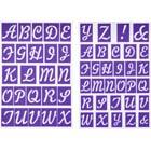 Adhesive Alphabet Stencil Set