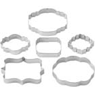 Plaque Cookie Cutter Set