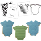 Baby Bodysuit Cookie Cutter Texture Set