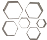 Cookie Cutter Set-Hexagon