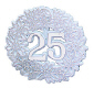 Anniversary Wreath, Plastic-25th