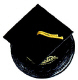 Graduation Hat-Black