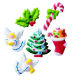 Dec-Ons® Molded Sugar - Christmas Assortment