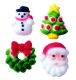 Dec-Ons® Molded Sugar - Christmas Charm