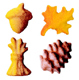 Dec-Ons® Molded Sugar - Fall Assortment