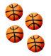 Dec-Ons® Molded Sugar - Basketball
