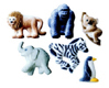 Dec-Ons® Molded Sugar - Zoo Animals