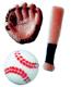 Dec-Ons® Molded Sugar - Baseball Assortment
