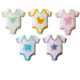 Dec-Ons® Molded Sugar - Baby Onepiece Assortment