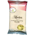Merckens Yellow Vanilla Flavored Candy Coating