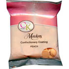 Merckens Peach Vanilla Flavored Candy Coating