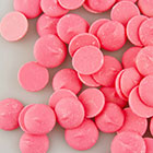 Merckens Pink Vanilla Flavored Candy Coating