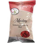 Merckens Red Vanilla Flavored Candy Coating