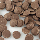 Merckens Real Dark Yucatan Chocolate  Buttons