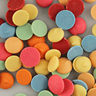 Merckens Mixed Vanilla Flavored Candy Coating