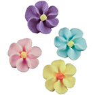 Royal Icing Flowers - Small Assortment