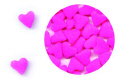 Pink Hearts Edible Confetti Sprinkles