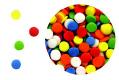 Bright Color Sequins Edible Confetti Sprinkles