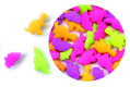 Bright Color Dinosaurs Edible Confetti Sprinkles