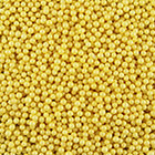 4mm Yellow Sugar Pearls