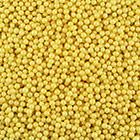 4mm Yellow Sugar Pearls