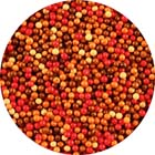 Fall Mix Sugar Pearls/ Dragees