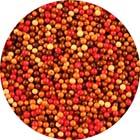 Fall Mix Sugar Pearls/ Dragees